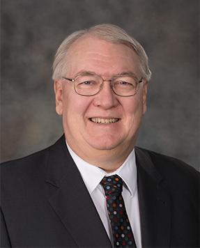 Portrait shot of Michael Justus
